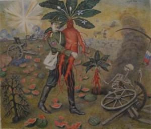 Илья Исупов. Стрелков и овощ