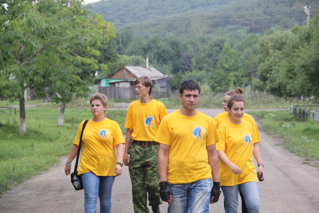 Бригада волонтеров, как из фильма