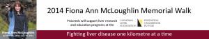 Fiona Ann McLoughlin Memorial Walk