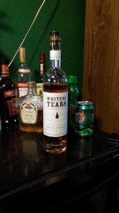 a whiskey called 'Writer's Tears'