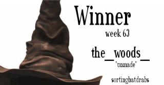 the_woods_ Winner Week 63 sortinghatdrabs