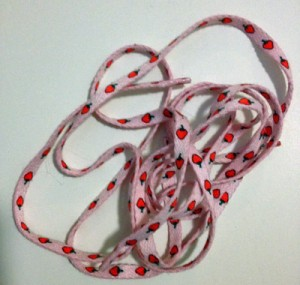 strawberry shoe laces - 5