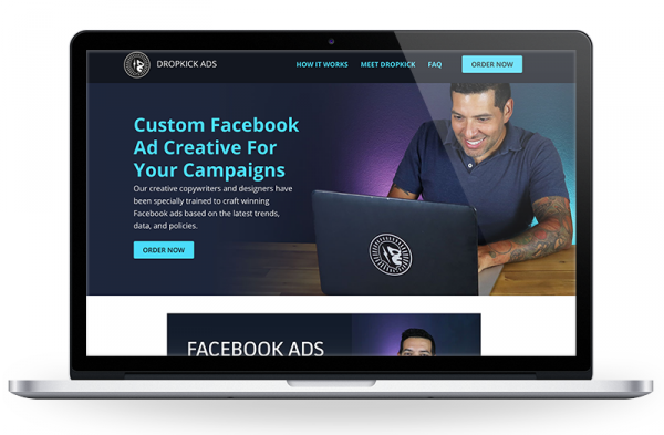 Dropkick Ads is a boutique marketing agency offering creative content and full brand management