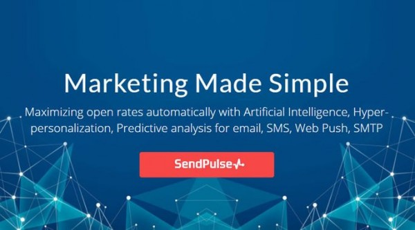 SendPulse is a platform that offers multiple channels of communication with customers