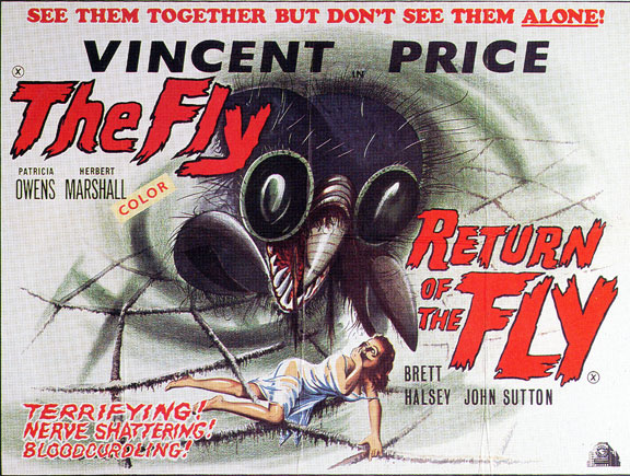 scifihorror movie posters 1950s60s vintage ads