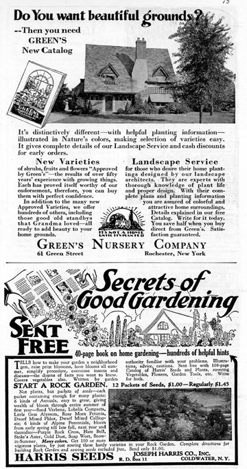 ... Gardening Catalogs In The Mail, And Planning Out What Seeds To Order  And Where It Should Be Planted, Etc. Now We Can Go Online Anytime And Do  That, ...