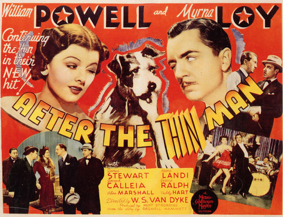 Vintage thin man movie posters