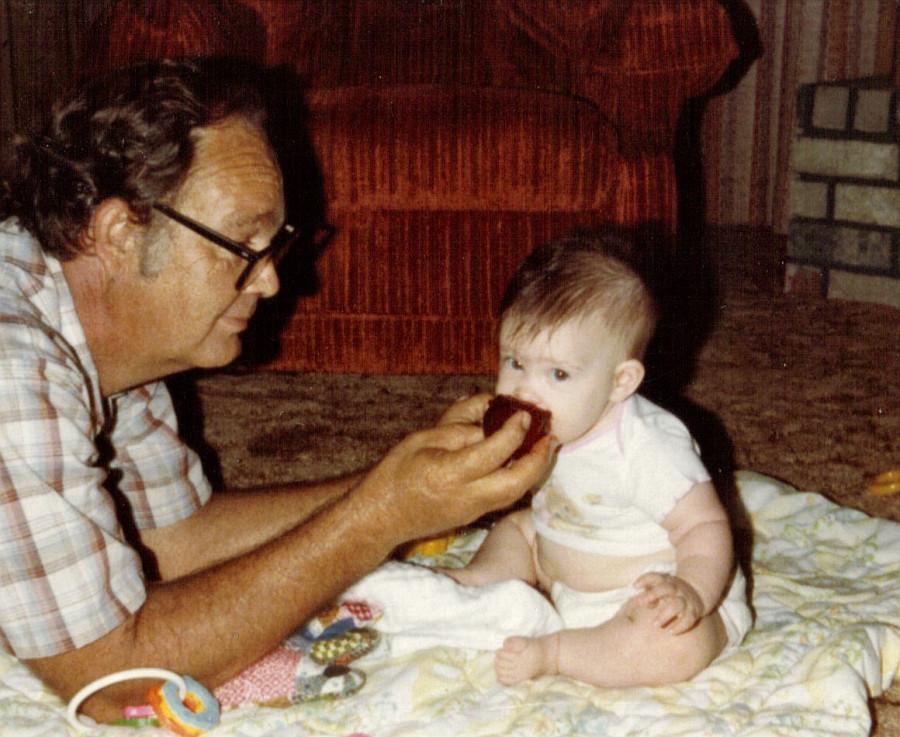 Kristen and Poppa