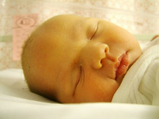 Amy In Slumber - 2 days old