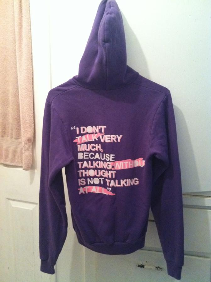 Clandestine industries hoodie