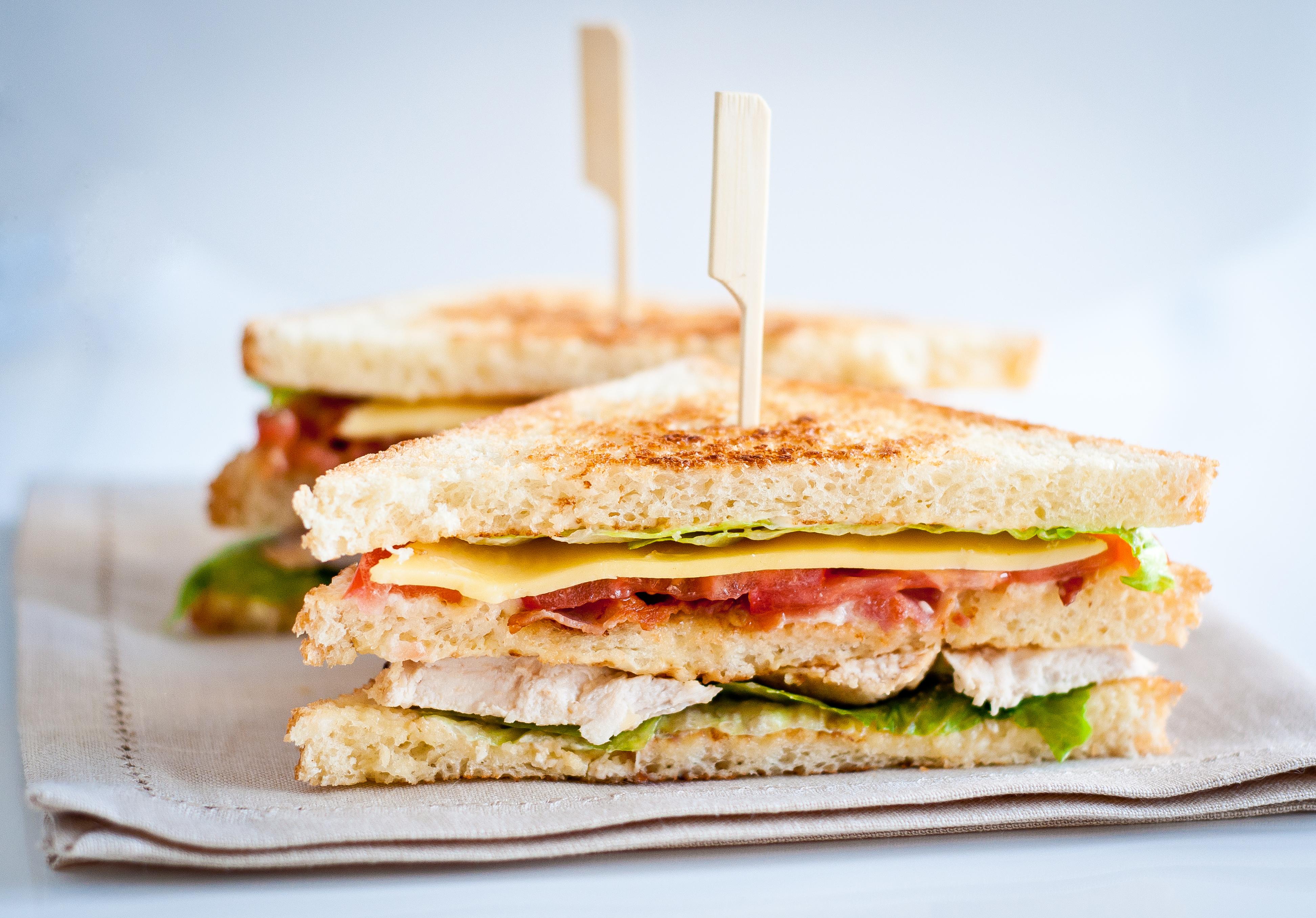 Клаб сэндвич с курицей рецепт с фото пошагово