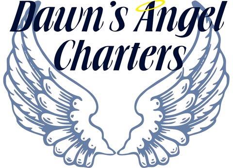 LOGO Dawns Angel Charters Dawayne Saucier & Stephanie Parrish