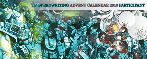 speedwriting 2010 advent calender