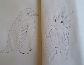 Penguin + dragon