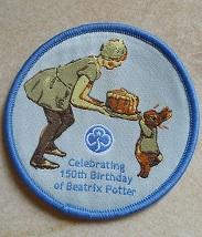 Beatrix Potter badge