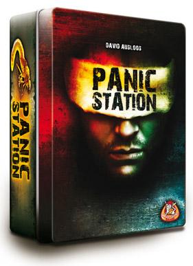 Настольная игра Станция Паники. Коробочка