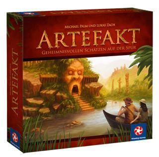 Настольная игра Артефакт (Boardgame Artefakt). Коробочка