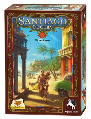 Настольная игра Сантьяго де Куба (Boardgame Santiago de Cuba). Коробочка