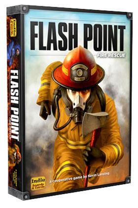 Настольная игра Горячая точка - спасение из огня (Boardgame Flash Point - Fire Rescue). Коробочка