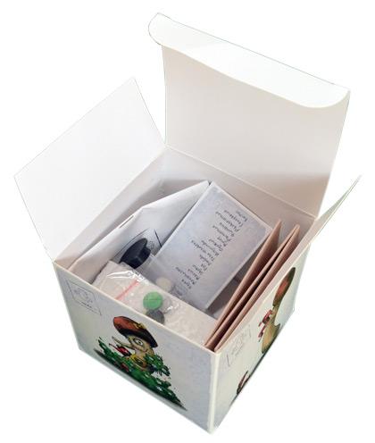 Настольная игра Опята (Boardgame Opiata). Внутри коробки