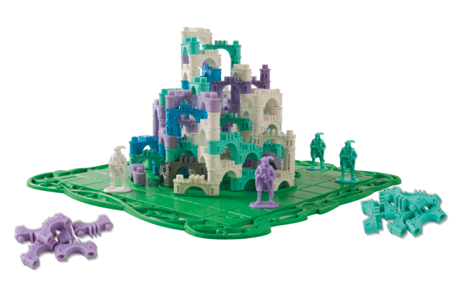 Эльфийский замок. Компоненты игры