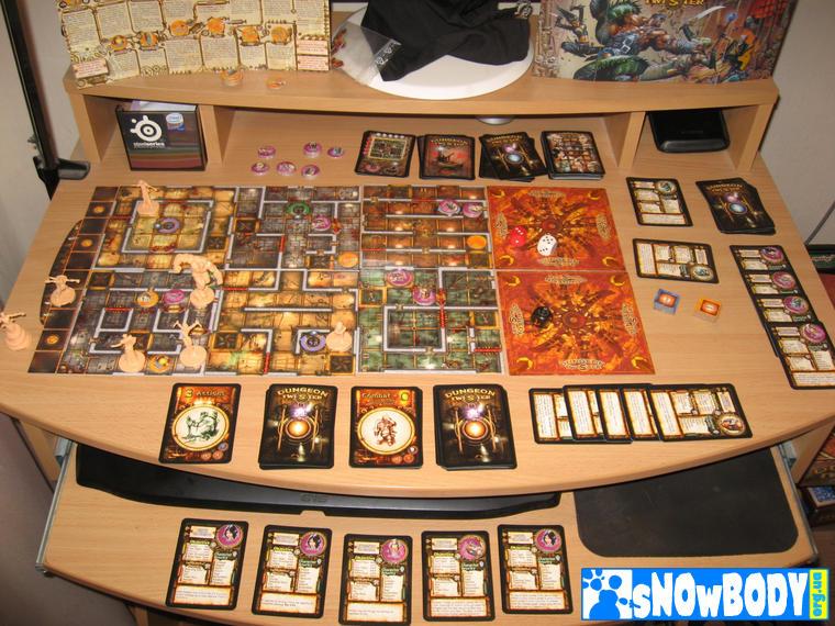Настольная игра Dungeon Twister 2: Prison - конец извращений в соло режиме