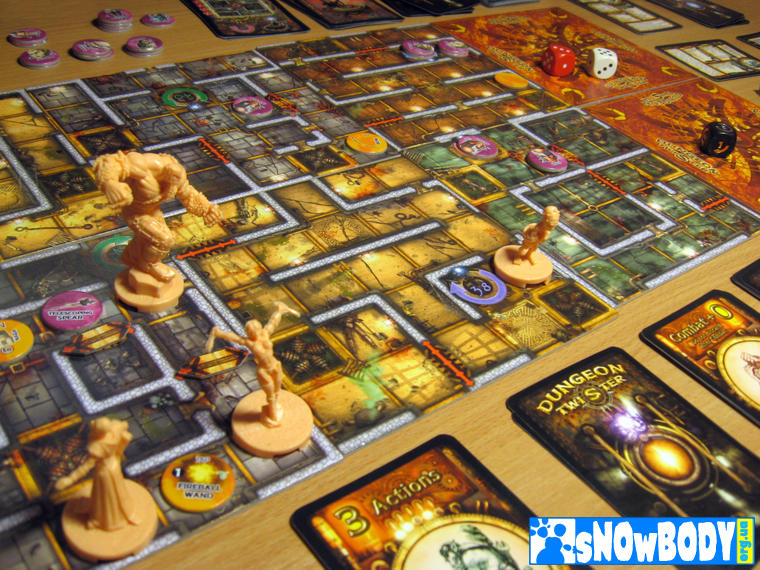 Настольная игра Dungeon Twister 2: Prison - в эпицентре событий