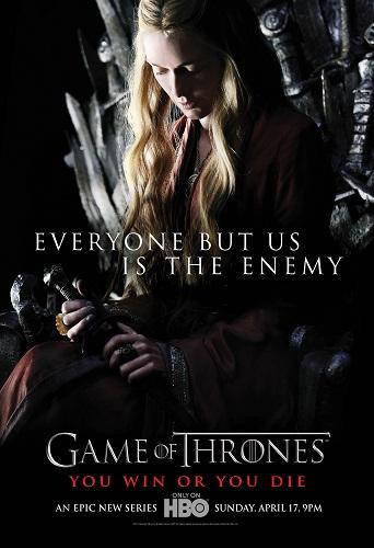 Постер сериала Игра престолов - Серсея Ланнистер