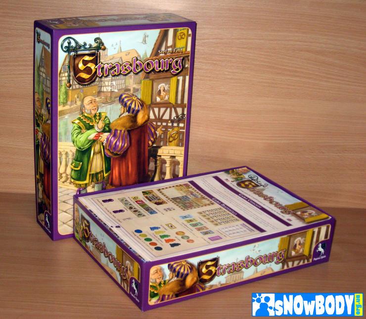 Настольная игра Страсбург (Strasburg). Коробка