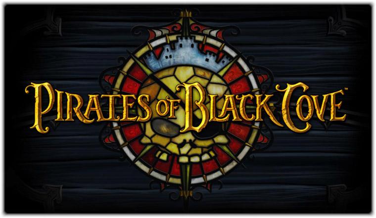 Компьютерная игра Пираты черной бухты (Pirates of Black Cove). Логотип игры