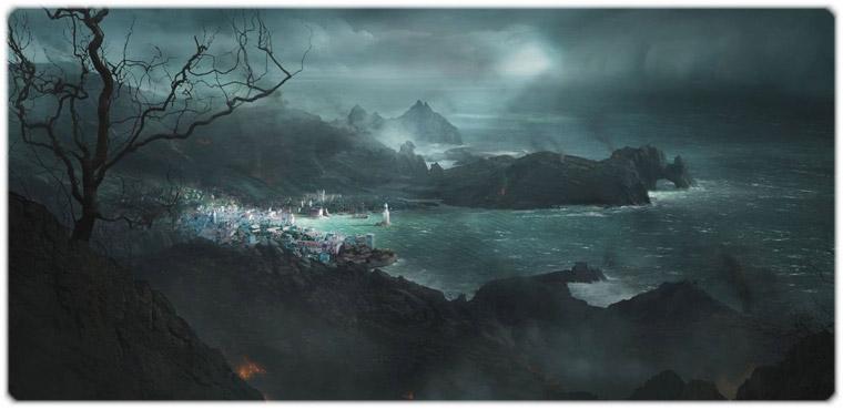 Ролевая видеоигра Ризен 2: Темные воды (Risen 2: Dark Waters). Тот самый последний оплот человечества в старой империи