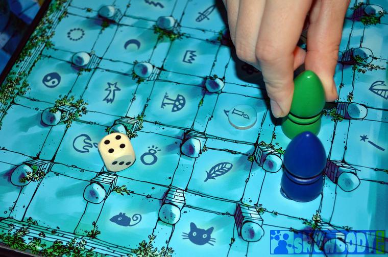 Настольная игра Магический лабиринт (The Magic Labyrinth). Как увести сокровище из под носа оппонента