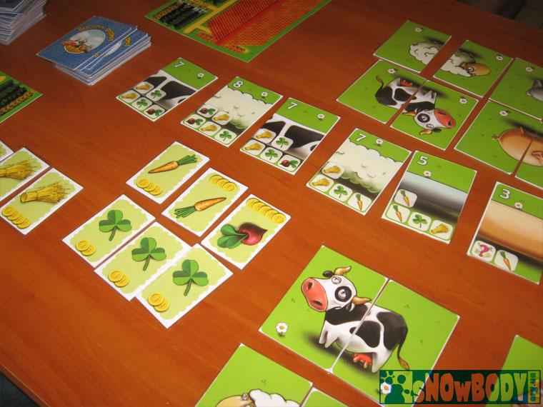 Настольная игра веселая ферма...