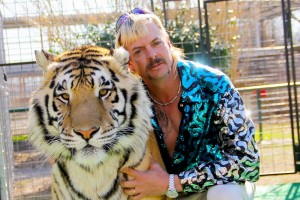 'Tiger King' Joe Exotic and a tiger