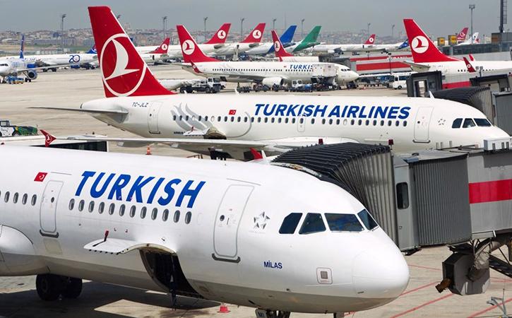 Полет в Турцию после запрета полетов