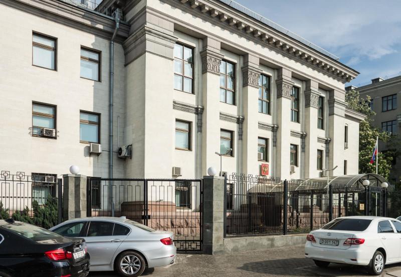 Российское посольство в Киеве - смертельная ловушка