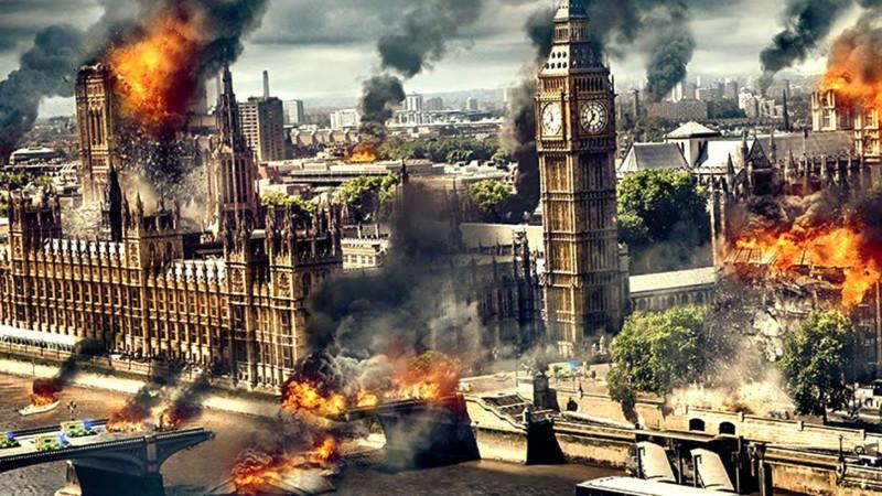 """Рецензия на фильм """"Падение Лондона"""""""