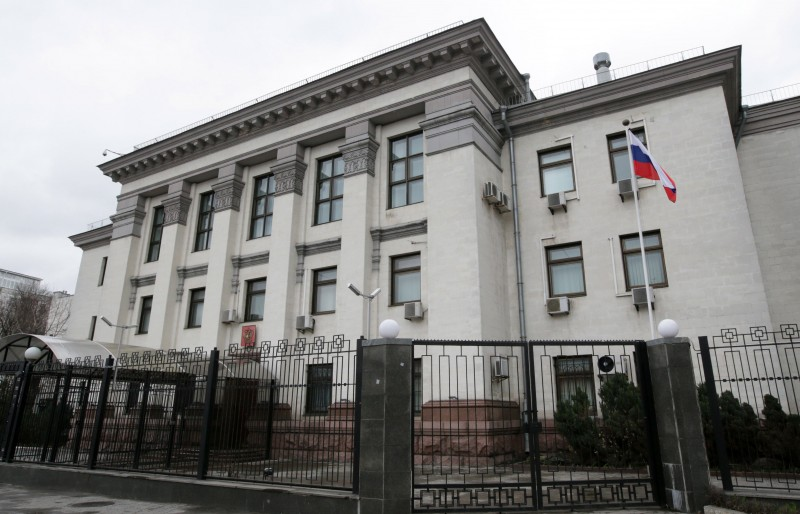 Как работает российское посольство в Киеве