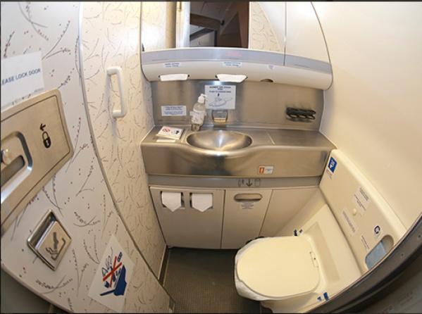 Засрали туалет в самолете - кто виноват?