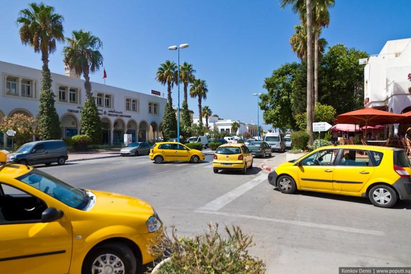 Развод от таксиста в Тунисе
