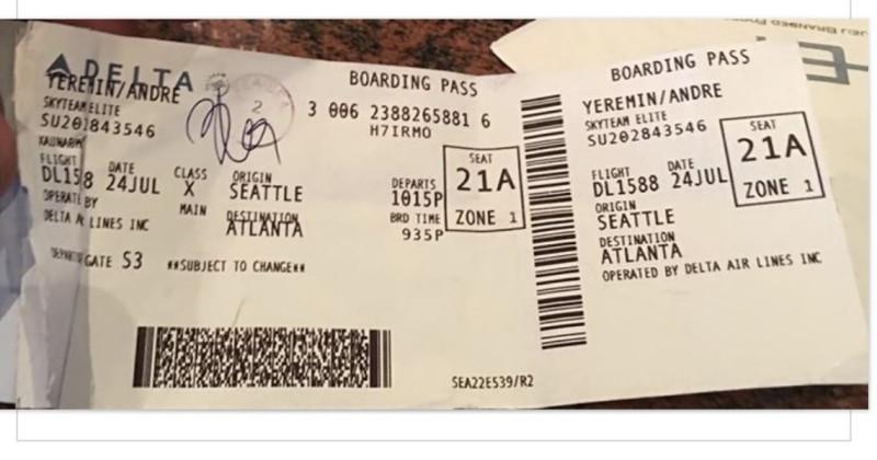 Кто врет? Авиакомпания Delta или пассажир