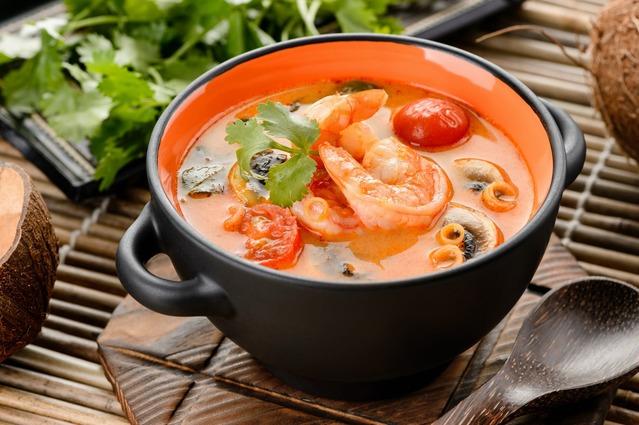 Где лучший суп Том Ям