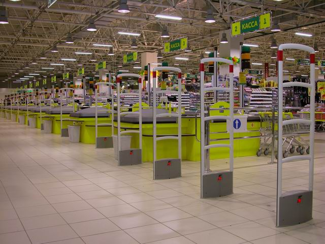 Как крадут в супермаркетах