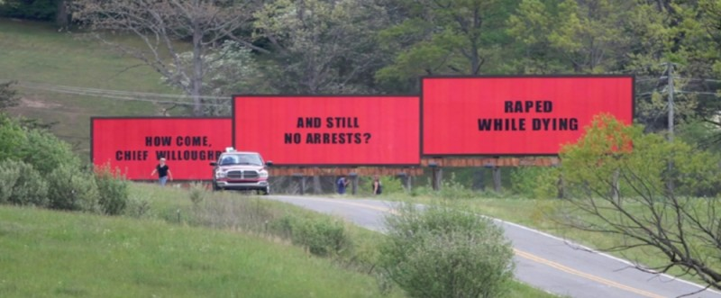"Обзор фильма ""Три билборда на границе Эббинга, Миссури"", 2017"