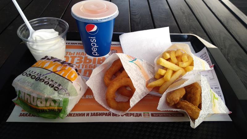 Ланчи от KFC и ланчи от Бургеркинг - что лучше?