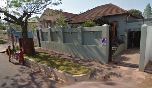 A photo of my South African house