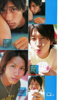 AUGH four of my favorite pictures of these two are on this page. ilu2hina BUT OMG SNOWBALL OHKURA :X SLEEP UBERTAN RYO. :X :X :X