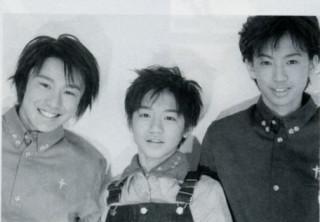 omg tiny Ryo in overralls!!!! lol Ohkura hair