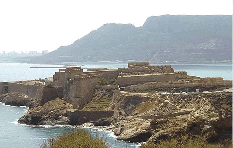 Fuerte español de San Miguel en Mazalquivir_сегодня