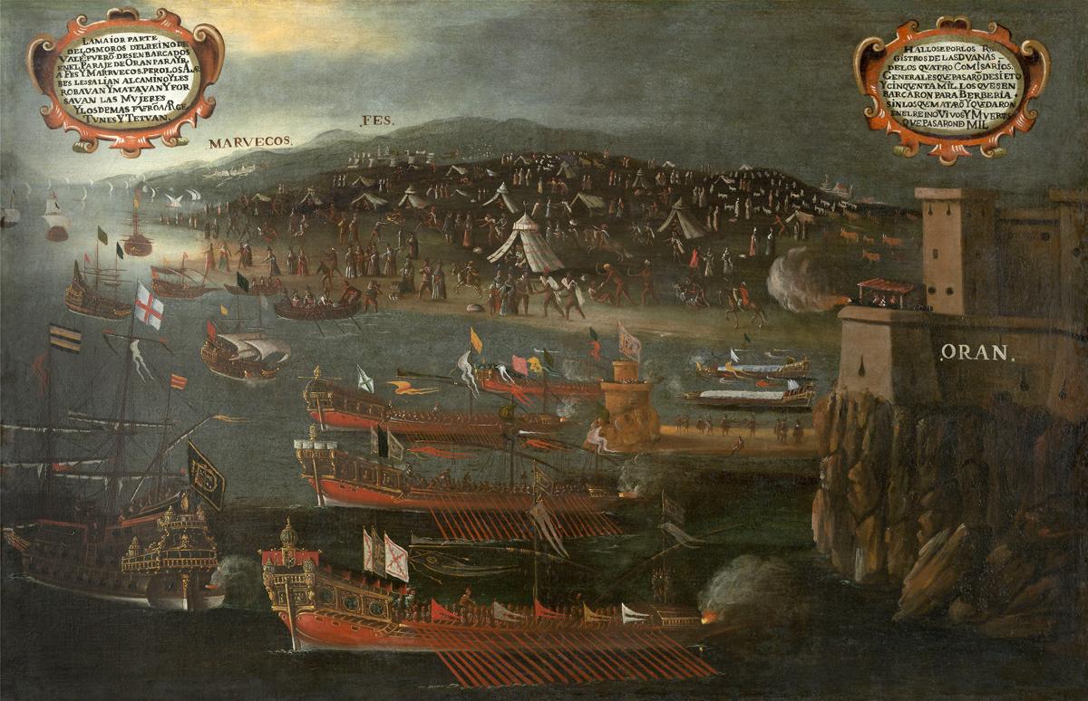 Moriscos_Port_d'Orán._Vicente_Mestre